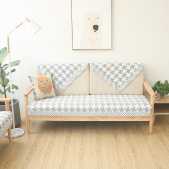 Harga Fashion thousands of birds white woven sofa cover sofa pad