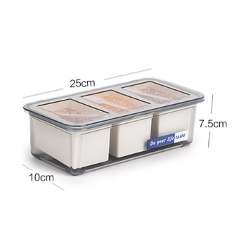 Flip seasoning bottle kitchen condiment box