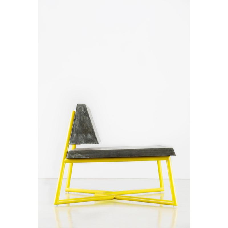 FLIQ One-Ton Bench ( Grey & Yellow )