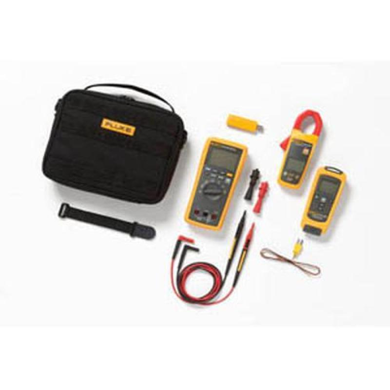 Fluke CNX 3000 HVAC System w/ Multimeter, 1 AC Clamp and 1 Temp [CNX 3000 HVAC]