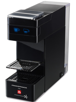 Harga Francis-Francis Y3 Push IPSO Coffee Machine - Black