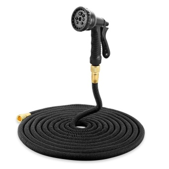 Garden Expandable Magic Flexible Water Hose Spray Nozzle 75ft - intl