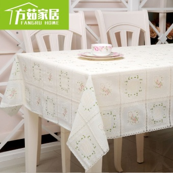 Garden plastic lace disposable tablecloth coffee table towel