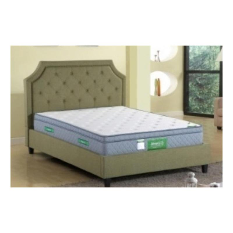 Gemini BF300 Bedframe Super Single with Storage Blue