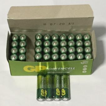 Harga GP 4AA Greencell Batteries 10 packs (40pcs)