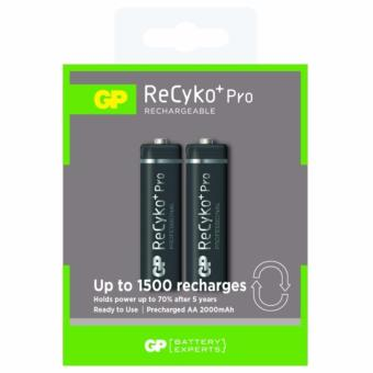 Harga GP Battery Recyko+ Pro 2AA 2000mAh Rechargeable Batteries