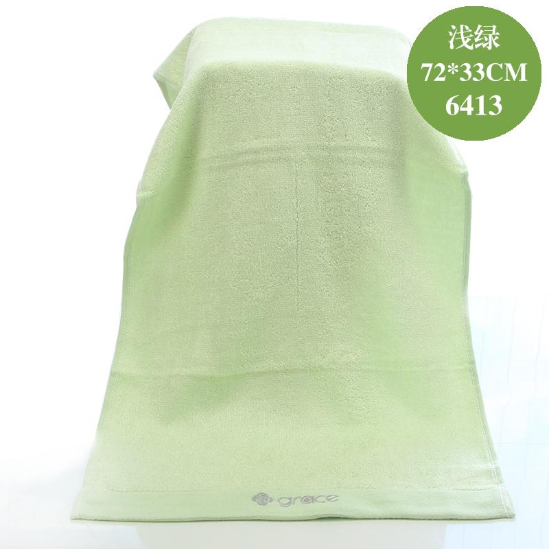 Grace bamboo fiber towel soft absorbent adult men and women wash large towel beauty towel home 5 strip dress