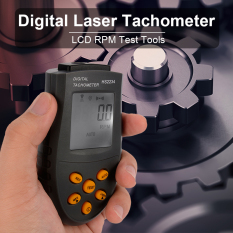 Handheld Digital Laser Tachometer RPM Test Small Engine Motor Speed, Gauge  TH309 - intl Singapore