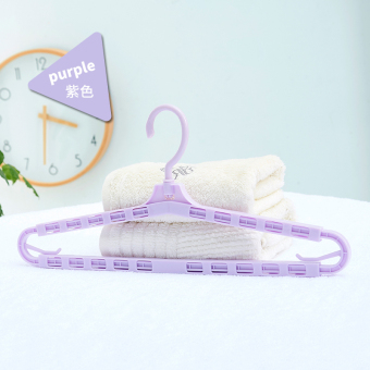 Hanger Can Be Retractable Quilt Linen Clothing Hanging Clothes Rack Plastic  Adult Childrens Bath Towel Rack