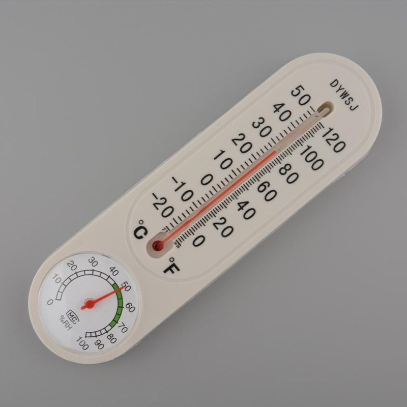 Hanging Outdoor Indoor Household Thermometer Tester Mercury Pointer Hygrometer - intl