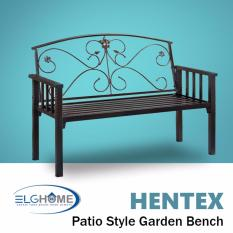 HENTEX Garden Bench (FREE Install & Delivery)