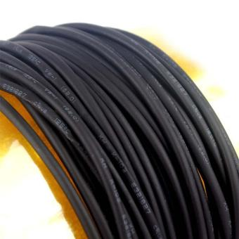 Harga High Quality Store New 1M 2mm Heat Shrinkable Tube Shrink TubingBlack Wire Wrap