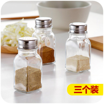 Home home glass spice jar salt shaker seasoning cans seasoning boxkitchen supplies seasoning bottle seasoning box seasoning bottles