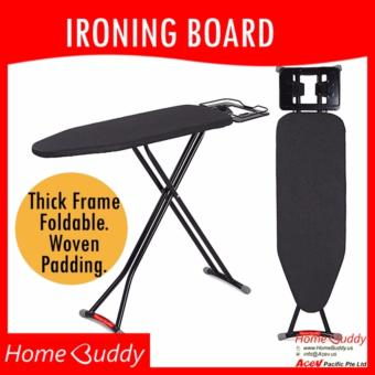 HomeBuddy Ironing Board [THICK Frame. Foldable. Height-adjustable]? 6000+ sold ? Stocks in Singapore ? _ HomeBuddy