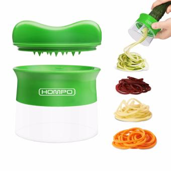 HOMPO Vegetable Spiral Slicer (Green)