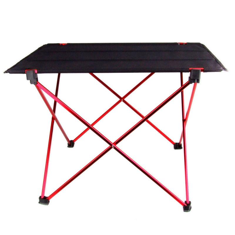 House Comfortable Portable Foldable Folding Table Home Outdoor Picnic Aluminium