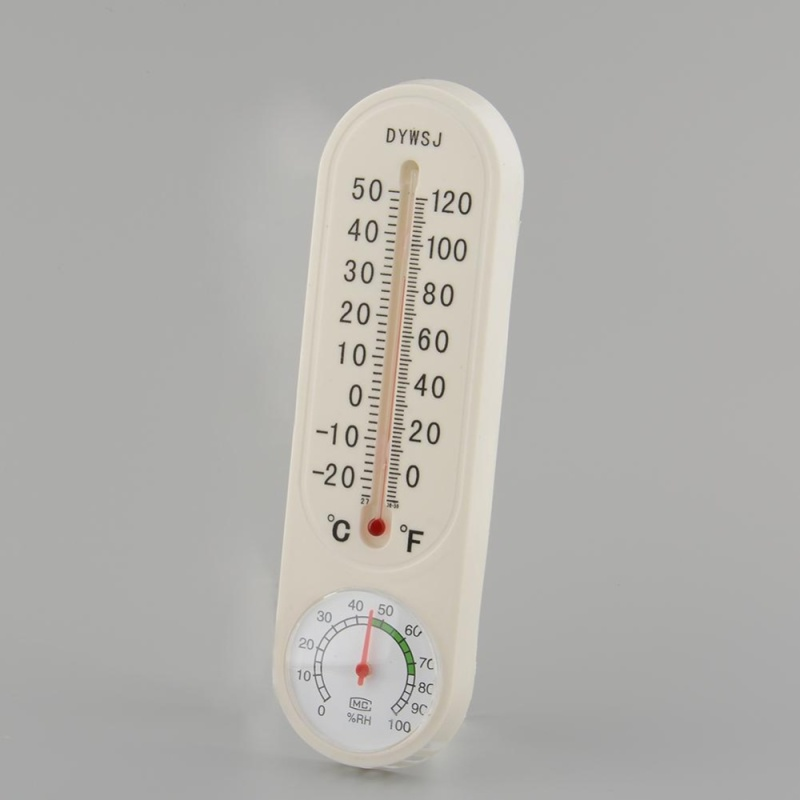 Household Thermometer Hygrometer Wall-mounted Temperature Temp Humidity Meter - intl