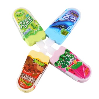 Ice-lolly Novelty Rubber School Supply Stationery Kids Random Color Eraser - intl