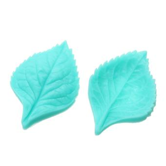 Harga Silicone Mould Flower Leaf DIY Fondant Cake Mould (Peony Leaf) - intl