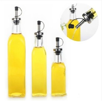 Harga Lead-Free leak funnel glass oil bottle seasoning bottle