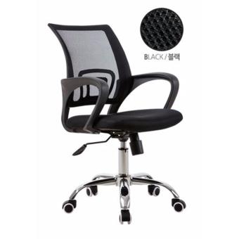 Harga Simple Mesh Office Chair B100-BLACK (Free Delivery)