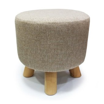 C01 Canvas Designer Stool - Light Grey
