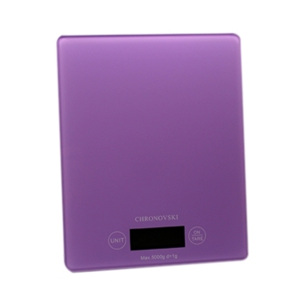 Harga Chronovski Kitchen Weighing Scale - Purple
