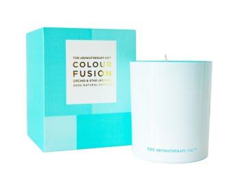 Harga The Aromatherapy Co. Colour Fusion Orchid & Star Jasmine Candle 200g