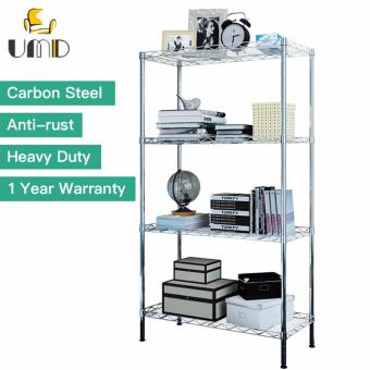 Harga Anti-rust Carbon Steel Storage Rack Shelf JS-202