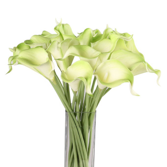 Calla Lily Bridal Wedding Bouquet 1 Head Latex Real Touch Flower Bouquets Export