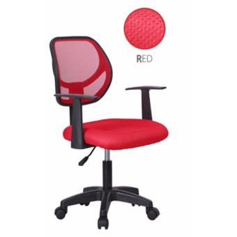 Harga Simple Mesh Office Chair B70-RED (Free Delivery)