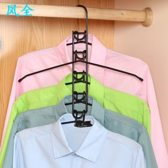 Harga Phoenix full multilayer multifunctional clothes rack magic hangers clothes rack clothes hanging storage closet stays home