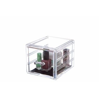 Harga Hot Sell Plastic Organizers Of All Types Decorative Desktop Organizer Shelves Drawer Packaging Organizer - intl