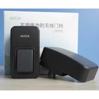 AUGIA E1 Waterproof Wireless Door Bell Self-powered Mini household Digital Doorbell NO NEED BATTERY! - intl