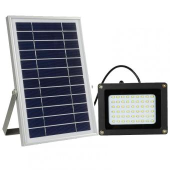 Harga Y&H N500C 54 LEDs Solar Flood Light Outdoor Garden Lawn Lamp High Integrated Spot Lights - Intl
