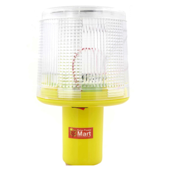 Harga Solar Warning Signal Light White