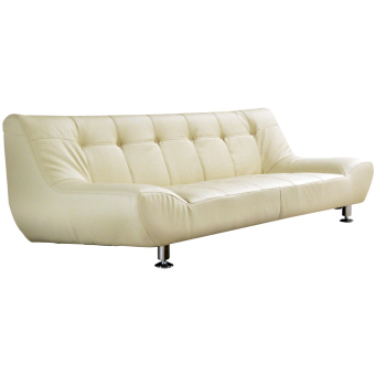 Harga Hermes Sofa (Ivory) (Free Delivery)