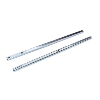 Harga Okdeals 1 Pair of Telescopic Metal Ball Bearing Metal Slides Drawer Runner 18inch