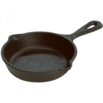 Harga Lodge LMS3 Cast Iron Miniature Skillet, 3.5-inch - intl