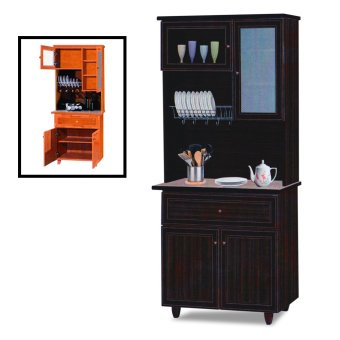 Nova 3014-WN Dining Cabinet (FREE DELIVERY) (FREE ASSEMBLY)