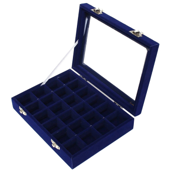 Harga Cocotina Jewellery Display Organizer Box (Blue)