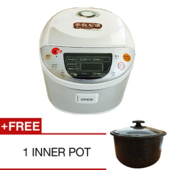 Harga Korean Stone Rice Cooker * Free Inner Pot*