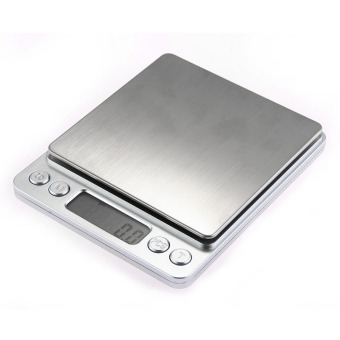 Harga WiseBuy 500g/0.01g Digital Medical Lab Balance Weigh Weight Weighing Scale Kitchen Home(Export)