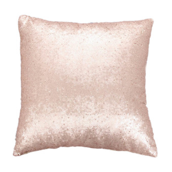 Harga Solid Glitter Sequins Throw Pillow Case Lounge Decor Cushion