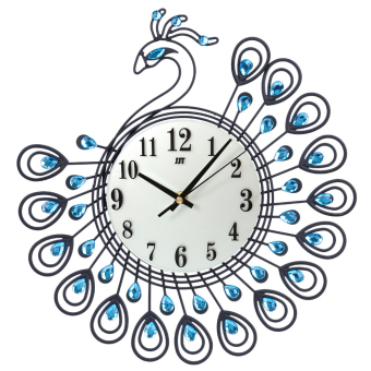 Harga Diamond Peacock Large Wall Clock(Export)
