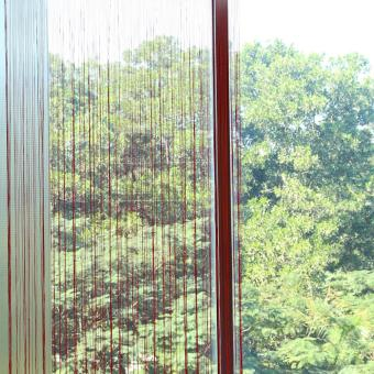 Harga Striking New Line String Window Curtain Rod