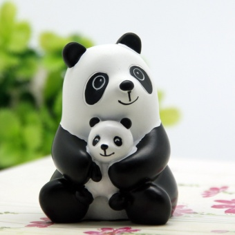 Harga ! Cute PANDA baby small furnishings PANDA of tour decorative ornaments Chinese features large PANDA small gift