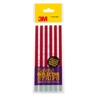 Harga 3M™ Safety Reflective Strips - Red