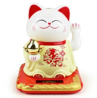 Harga Solar Powered Longevity Fortune Cat