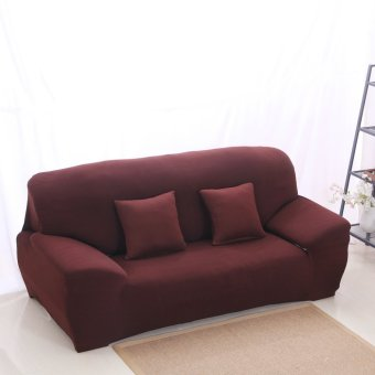 Harga BolehDeals Spandex Stretch Lounge Sofa Couch Seat Cover Slipcover Case Decor Coffee (EXPORT)